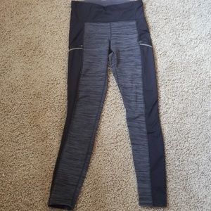 Athleta Fleece Lined Leggings size medium